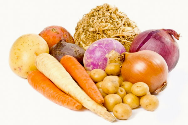 Types and uses of Root vegetables